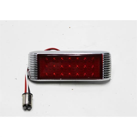 Garage Sale - 1941 Ford Style LED Flush Mount Tail Light, Red