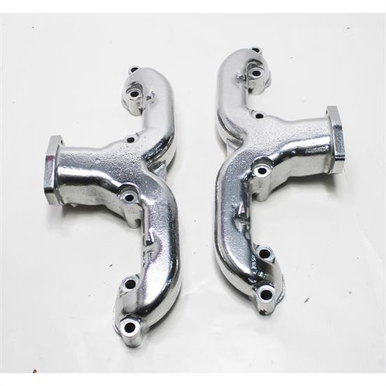 Garage Sale - Smoothie Rams Horn Exhaust Manifolds, Small Block Chevy, Silver