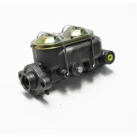 """New Cast Steel 1/"""" Bore Master Cylinder Corvette Style Universal w// 4 3//8/"""" Ports"""