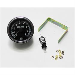 Garage Sale - Stewart Warner 82170 Deluxe Tachometer, Electric, 3-3/8 Inch