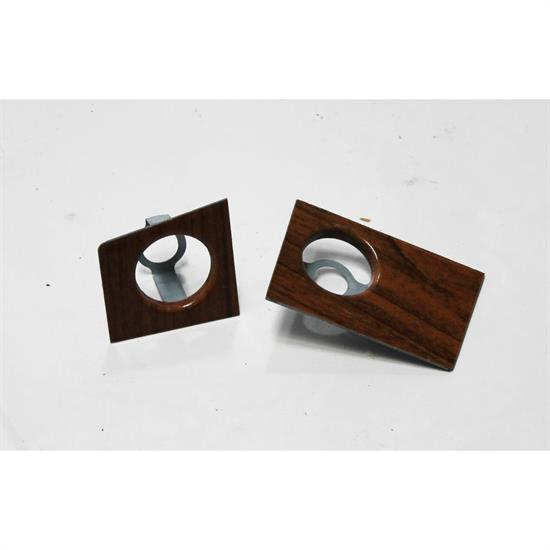 Garage Sale - Classic Headquarters W-384 Woodgrain Radio Dash Plate for 69 Camaro