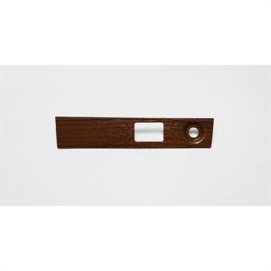 Garage Sale - Classic Headquarters W-385 Dark Woodgrain Wiper/Headlight Dash Plate