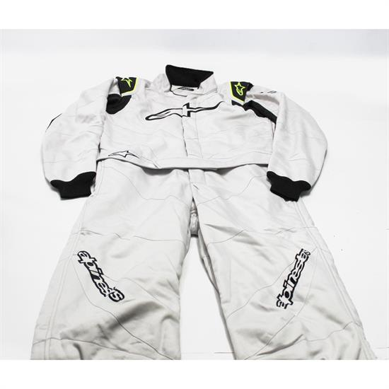 Alpinestars GP Race Uniform Size 50, Silver/Black
