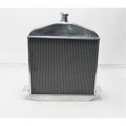 Garage Sale - 1917-1923 T-Bucket Aluminum Radiator, Polished