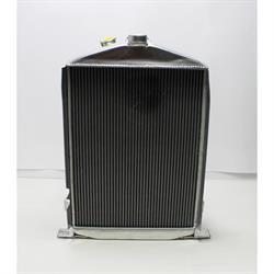 Garage Sale - Speedway 1932 Ford Aluminum Radiator, Chevy Engine, Stock Height