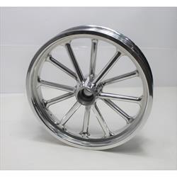 Garage Sale - Radir 18x3 Spindle Mount Wheel for Chevy Spindles, Polished Finish