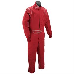 Garage Sale - Speedway One Piece Fire Retardant Cotton Racing Suit, SFI 5, Large
