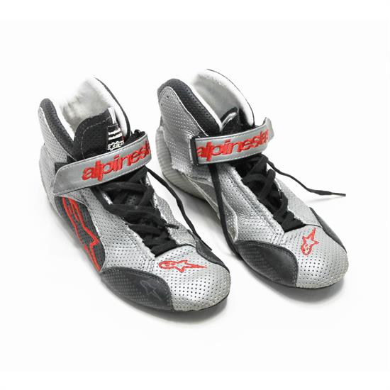 Garage Sale - Alpinestars Tech 1-T Shoes, Gray/Red, Size 7