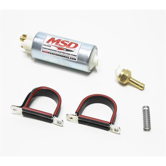 Garage Sale - MSD 2225 In-Line Hi-Pressure Fuel Pump