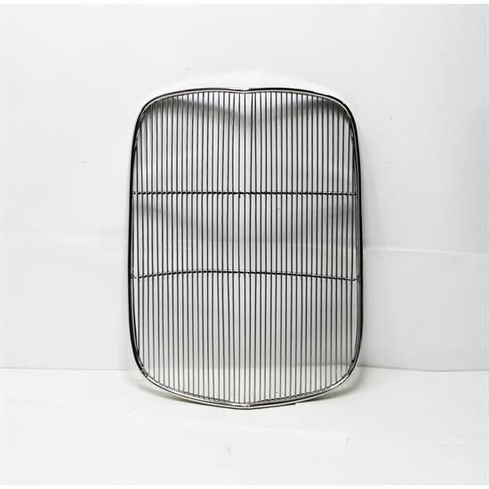 Garage Sale - Speedway 1932 Ford Stainless Grille Insert, Chopped 4-1/2 Inches