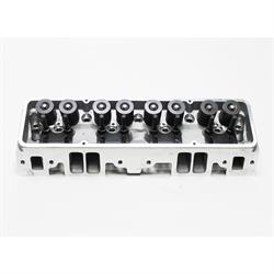 Garage Sale - Flo-Tek 101505 Assembled S/B Chevy Aluminum Head, Angle Plug
