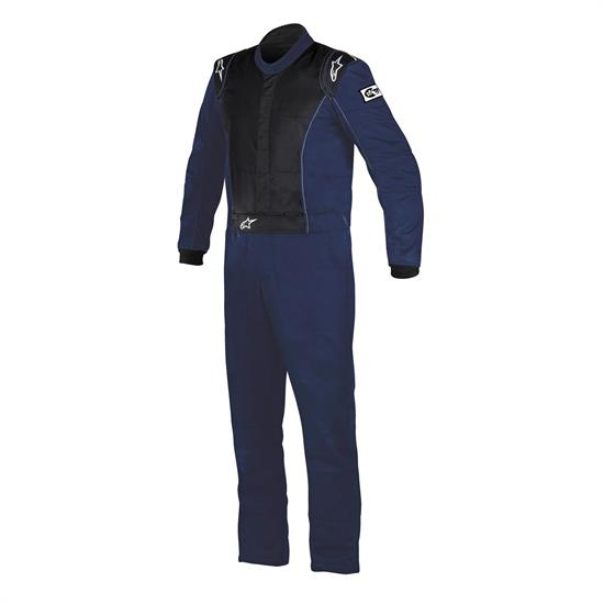 Gargae Sale - Alpine Stars 3355916-7100-66 Blue Knoxville Racing Suit, Size 66