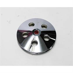 Single Groove Power Steering Pump Pulley, Machined Aluminum