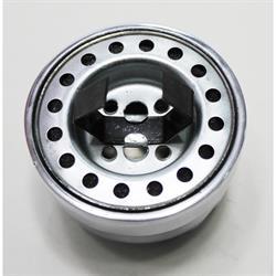 OTB 6825 Finned Flathead Rear Breather Polished