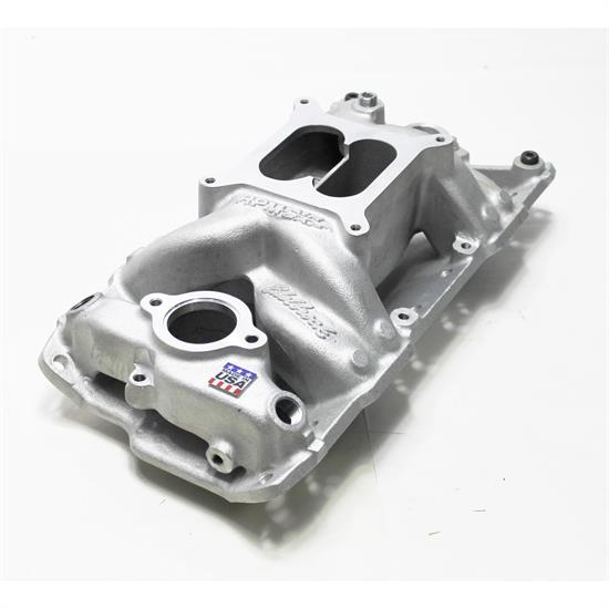 Edelbrock 7501 Performer Rpm Air Gap Sbc Intake