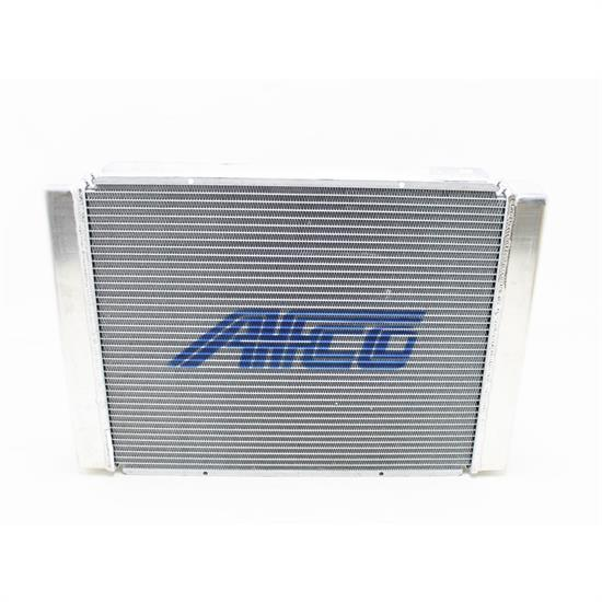 AFCO 80101-1N Universal Racing Radiator, No Filler, 27-1/2 Chevy