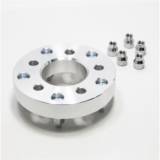 Billet Aluminum Early Ford Wheel Adapters, 4-3/4 - 5-1/2 Inch, 5