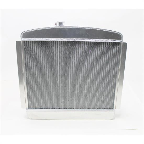 AFCO 80139-S-NA-N 1949-54 Chevy Aluminum Radiator, Chevy Engine