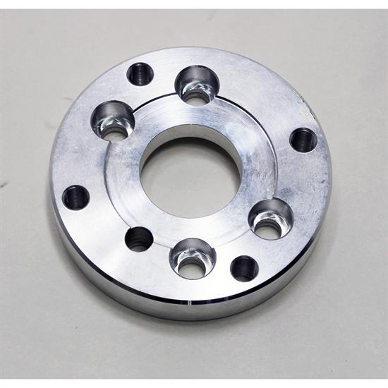 Aluminum Crank Flange, Late Small Block Chevy