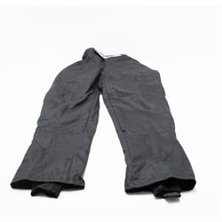 Finishline 2-Layer SFI-5 Fire Retardant Racing Pants Black Large