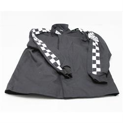 Finishline SFI-1 Qualifier Single-Layer Racing Jacket, Black XXL