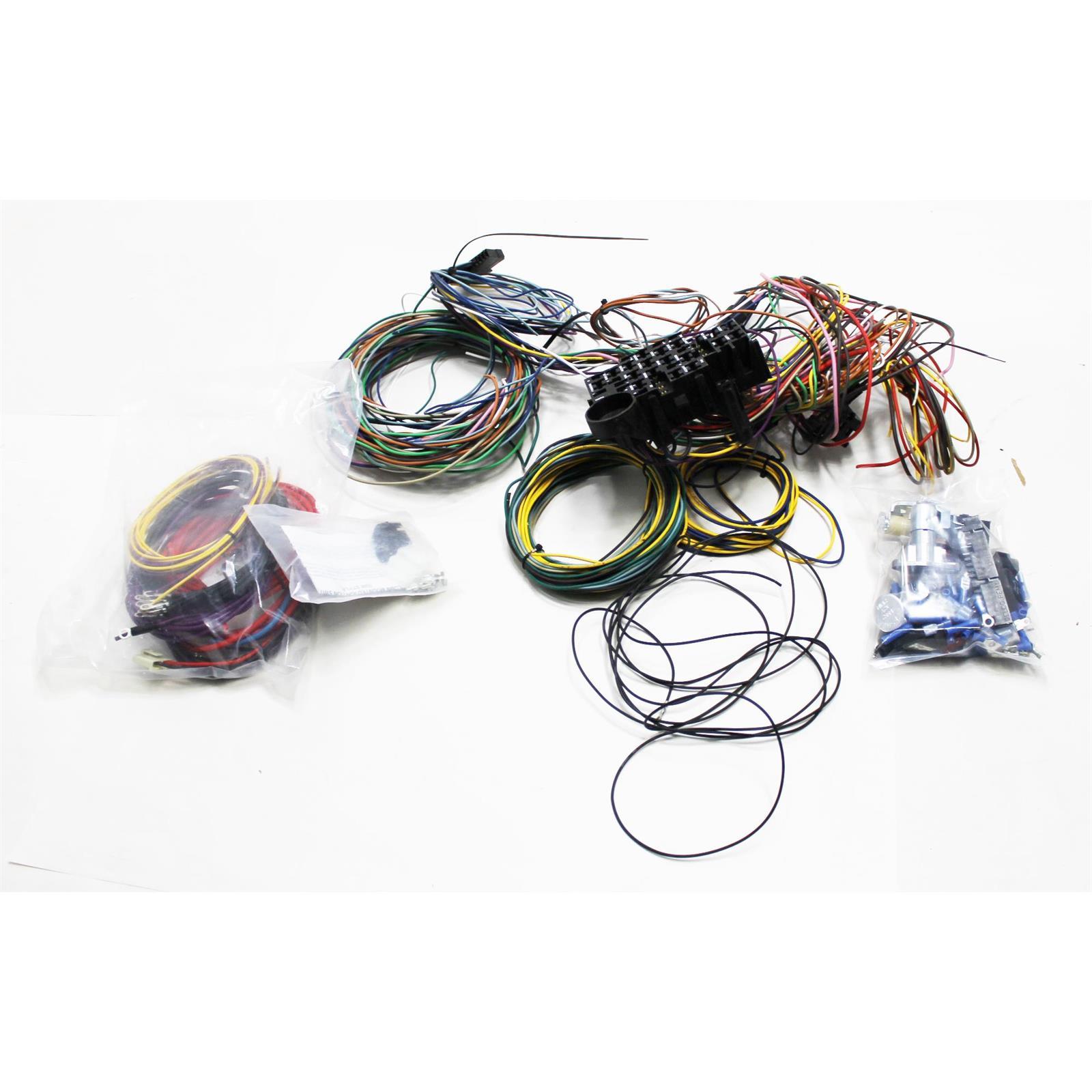 Speedway Universal 22 Circuit Wiring Harness 3 Kit