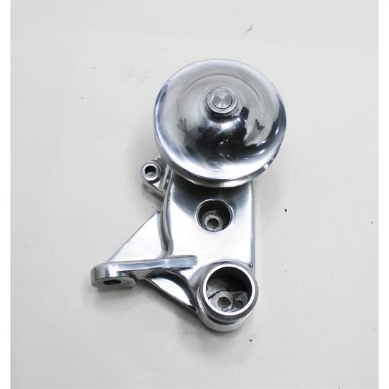 1949-53 Flathead Polished Aluminum Water Pump, Driver