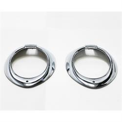 Headlight Trim Rings, 1940 Ford/Mercury Dlx, 1940-41 Ford Truck