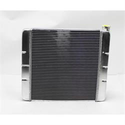 Speedway Double Pass Aluminum Radiator, Chevy, 22 Inch