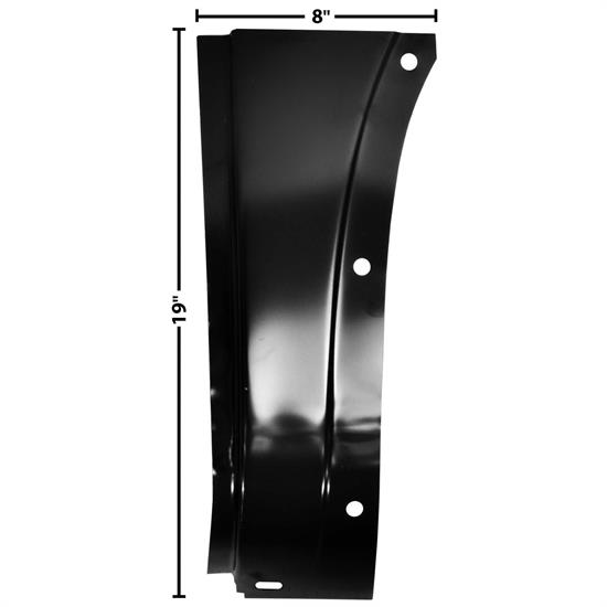 Dynacorn 1106DB Cowl Outer Lower Panel, RH, 1947-55 Chevy Pickup