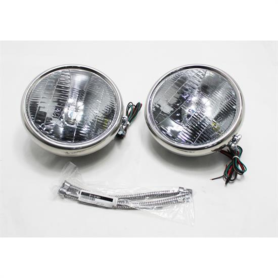 1932 Ford Xenon Headlights w/ Turn Signals