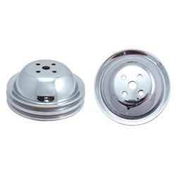 Spectre 4458 Chrome Water Pump Pulley, Chevy 396-427, GMC 396