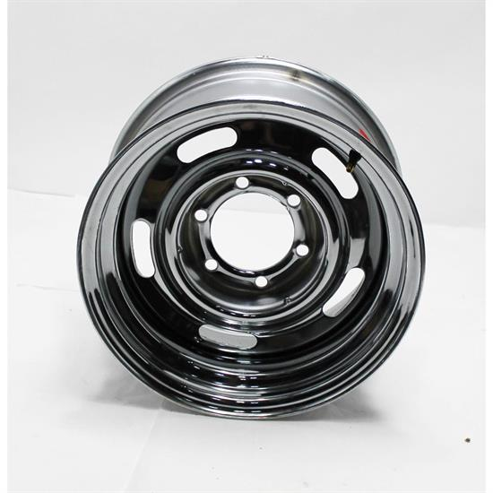 GM Chrome 15x8 Rally Track Wheel, 6 on 5.5 Inch