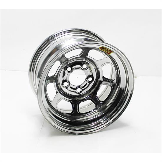 Aero 58-284730 58 Series 15x8 Wheel, SP, 5 on 4-3/4 BP, 3 Inch BS