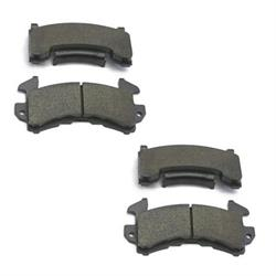 Garage Sale - Speedway Soft Street Brake Pads, GM Metric 1978-UP