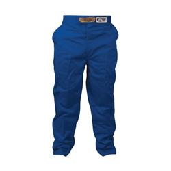 Speedway Blue Racing Pants Only, SFI-1, XL