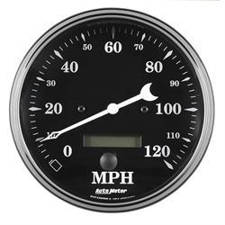 "Auto Meter 1789 Old Tyme Black, 5"" Speedometer, Electric"