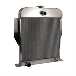 AFCO 81164-B-SB-N 1949-53 Ford Aluminum Radiator, Ford Engine