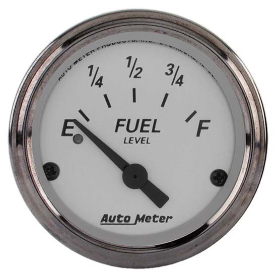 Auto Meter 1906 American Platinum Air-Core Fuel Level Gauge
