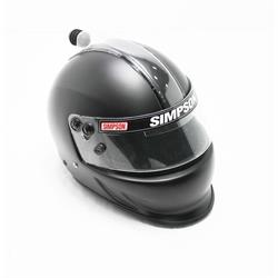 Simpson 6627388 Air Inforcer Vudo SA2015 Racing Helmet, F-Black,