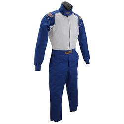 Speedway One Piece Fire Retardant Cotton Racing Suit, XXL