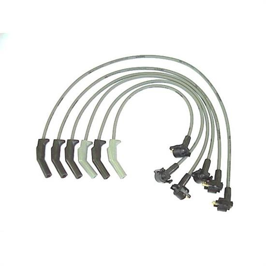 ProConnect 126016 Spark Plug Wire Set, 1989-95 Ford, 6 Piece Set