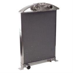 AFCO 1933-34 Ford Car Aluminum Radiator, Ford Engine