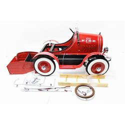 Model A Fire Truck Pedal Car