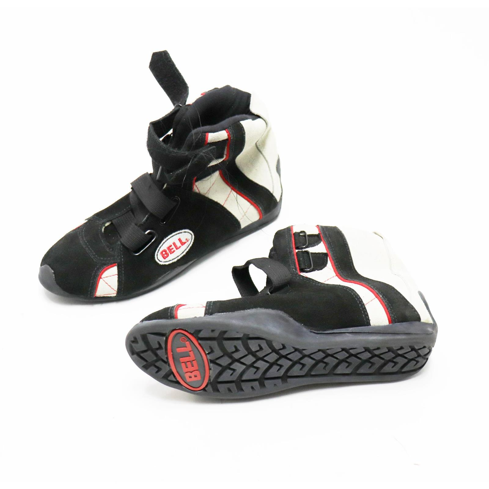 Bell Apex II SFI 3 3 5 Racing Shoes Black Red White Size 6 5