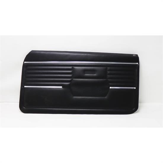 PUI PD210 1968 Camaro Standard Front Door Panel, Black
