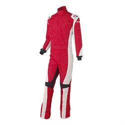 Simpson AP03481 Apex Kart Racing Suit, Red, XL