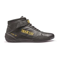 Sparco Cross RB-7 Racing Shoes, Black, Size 10