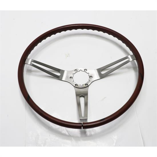 OER 3960722 Rosewood Grip Steering Wheel, 1969-70 Chevy