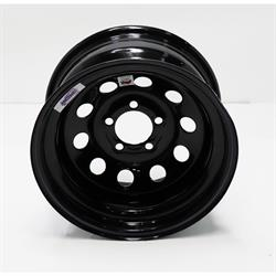 Speedway 15x8 IMCA Wheel, 3 Backspace, 5 on 4.5